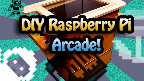 DIY Arcade Cabinet Using A Raspberry Pi | Tinkernut Labs