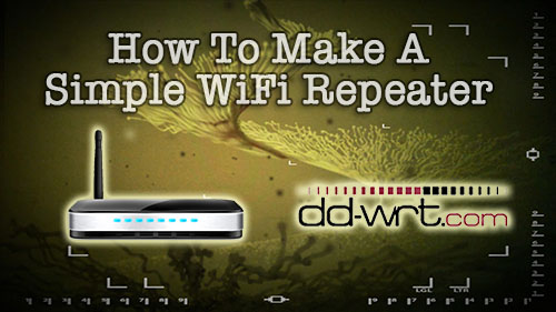 How To Make A Simple Wireless Repeater | Tinkernut Labs | The
