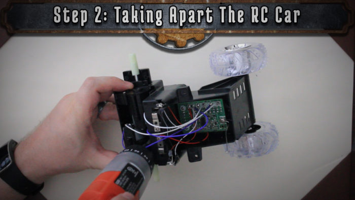 Turn An Old RC Car Into A Ping Pong Ball Blaster! | Tinkernut Labs