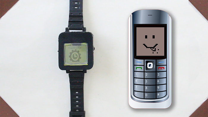 Make Your Own Smartwatch From An Old Cell Phone | Tinkernut