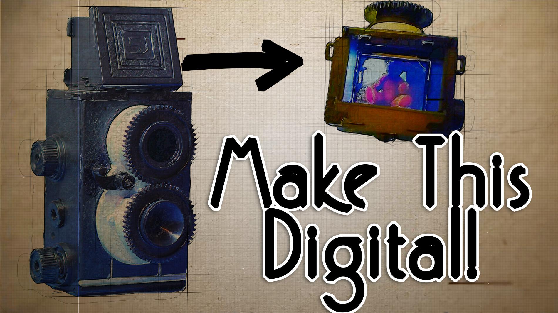 Diy Retro Style Digital Camera Tinkernut Labs The